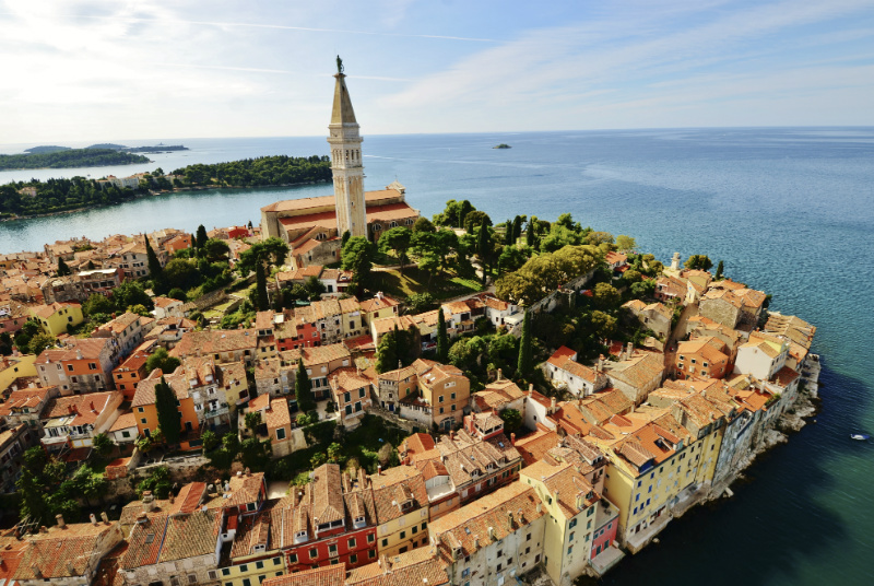Rovinj  the Blue Pearl of the Adriatic